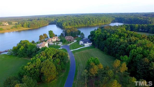Ariel view of a home in Hidden Lake